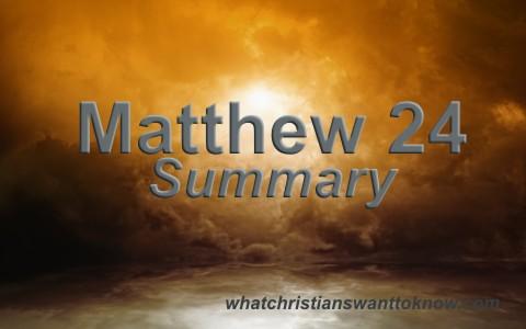 Matthew-24-Summary-and-Key-Verses