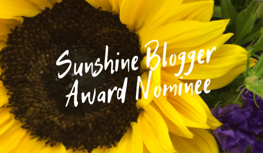 Sunshine-Blogger-AwardNominee